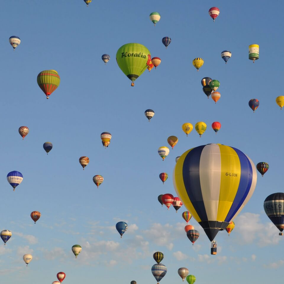 Air Events - First class ballooning